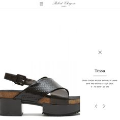 Robert Clergerie - luxury shoes  Confortable. Wishlist