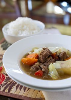 """Meet my BUDGET  BUDDY today…Liren Baker, who brings to my blog her """"Nilagang Baka"""". It's a sumptuous soup stew of boiled beef and vegetables and is guaranteed to fill your bellies with the heartiest flavors, without emptying your pockets. Like me, Liren likes to cook dishes that remind her of home…her parents' New York kitchen..."""