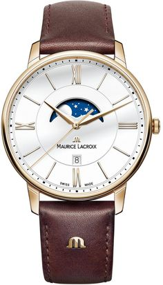 @mauricelacroix  Watch Eliros Moon Phase #add-content #basel-16 #bezel-fixed #bracelet-strap-leather #brand-maurice-lacroix #case-material-rose-gold #case-width-40mm #date-yes #delivery-timescale-call-us #dial-colour-silver #gender-mens #luxury #moon-phase-yes #movement-quartz-battery #new-product-yes #official-stockist-for-maurice-lacroix-watches #packaging-maurice-lacroix-watch-packaging #style-dress #subcat-eliros #supplier-model-no-el1108-pvp01-112-1…