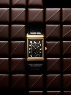 Jaeger LeCoultre Reverso & chocolate