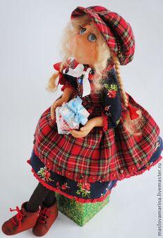 Коллекционные куклы ручной работы. Ярмарка Мастеров - ручная работа Девочка-праздник. Handmade.