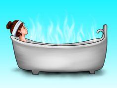 How to Make a Chocolate Bubble Bath -- via  Health Fit Beautiful, Chocolates Bubbles, Adorable Chocolates, Roommates Self Health Helpful, Detox Bath, Bubbles Bath, Beautiful Diy, Bath Recipe, Bubble Baths
