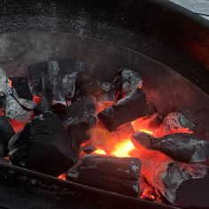 Nothing quite like hot coals