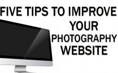 Improve your photography website