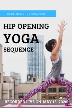 In this hip opening yoga sequence we practice poses that open up the hip flexors, abductors, adductors, internal rotators and extensors of the hips. Hip Opening Yoga, Post Workout Nutrition, Health And Wellness Coach, Hip Openers, Yoga Block, Hip Pain, Hip Muscles, Yoga Sequences