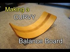 This is how I made a Waldorf style curvy balance board for my daughter. It's a great motor skills development tool/toy for kids to help improve both physical... Kids Woodworking Projects, Woodworking Tools For Beginners, Wood Projects For Kids, Woodworking Jigsaw, Essential Woodworking Tools, Antique Woodworking Tools, Wood Projects For Beginners, Woodworking Furniture, Woodworking Tips