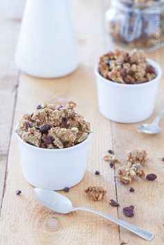 A recipe for spiced pumpkin granola.