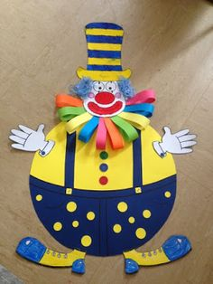Clown craft idea for kids Paper plate and plastic plate clown craft ideas Paper clown crafts Clown wall decorations for classroom Foam clown craft ideas Balloon clown craft idea for preschoolers Clown Crafts, Circus Crafts, Carnival Crafts, Cd Crafts, Circus Art, Circus Theme, Plate Crafts, Preschool Crafts, Diy And Crafts