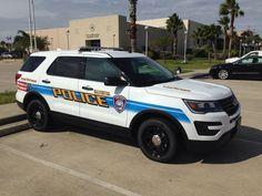 Galveston Police Department Ford Police Interceptor SUV