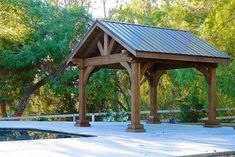 The leader in ready-to-assemble pergola kits shipped direct to you. Cedar, redwood, and fiberglass pergola kits both free-standing and attached Diy Pergola, Pergola Canopy, Pergola Swing, Deck With Pergola, Outdoor Pergola, Pergola Lighting, Cheap Pergola, Wooden Pergola, Covered Pergola