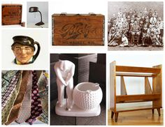 GIFTS for your Grads & Dads from #VintageAndMain http://www.etsy.com/pages/vintageandmain/love-for-him #vintagegifts #forhim #fathersday #gradgifts