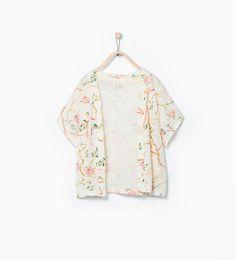 Kimono a fiori