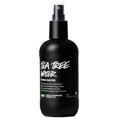 Tea Tree Water toner from Lush is absolutely amazing. Very lightweight, doesn't leave you feeling greasy. Awesome daily refresher!