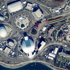 Sochi, Russia © European Space Imaging / DigitalGlobe