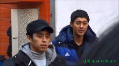 20140107 KBS감격시대 이천세트장에서 퇴근하는 김현중 KIM HYUN JOONG / TIME 1:12 -POSTED 07JAN2014 - IG FILMING