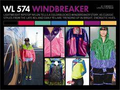 Womans Windbreaker - WL 574