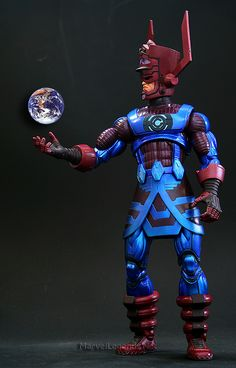 Marvel Legends Galactus Series Galactus // Pinned by: Marvelicious Toys - The Marvel Universe Toy & Collectibles Podcast [ m a r v e l i c i o u s t o y s . c o m ]