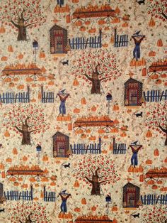 Scarecrow Collection Fabric by Carol Endres  by KoopsKountryKalico, $9.99