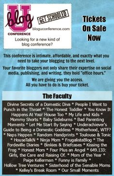 kissing the frog: Get Schooled - A New Kind of Blogger Conference