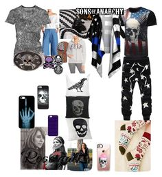 """Gemma Can't Find shoes"" by lerp ❤ liked on Polyvore featuring Sons of Anarchy, Mina Victory, After Market, Metal Mulisha, Casetify, Logophile, Gap, men's fashion and menswear"
