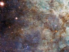 Principal nuvem da nebulosa Tarântula