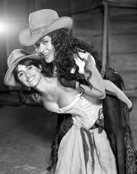 Penelope Cruz and Salma Hayeck.....Bandidas!!! One of my fave movies :)