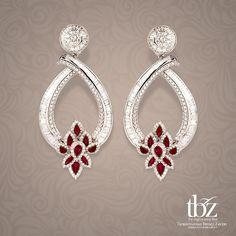 Emerald and Diamond Earrings | ❥❥Haute Earrings❥❥ | Pinterest ...