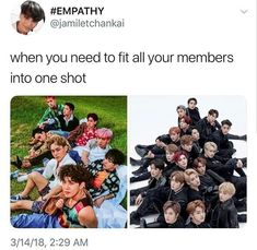 Ok but nct has a SHITLOAD of members