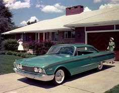 Ford Galaxie Starliner 1960.