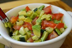 Avocado salsa recipe... Just the salsa.