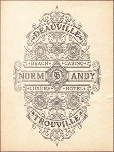 deauville trouville gravure