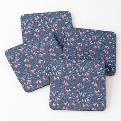 Floral Texture, Coaster Set, Art Prints, Printed, Awesome, Hot, Pattern, Mens Tops, Products