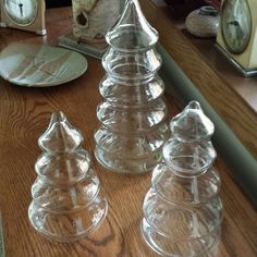 Mercury Glass Tree Project- just found these exact trees at the dollar store today!