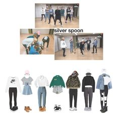 뱁새 inspired outfits by agustdead on Polyvore featuring moda, NIKE, Yves Saint Laurent, Monki, Y/Project, H&M, adidas Originals, Frame, WithChic and American Apparel