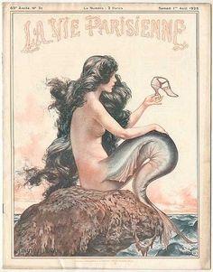La Vie Parisienne mermaid