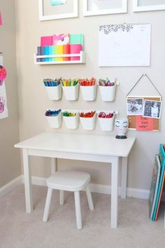 playroom art station is giving us all the toddler art goals! This playroom art station is giving us all the toddler art goals! - This playroom art station is giving us all the toddler art goals!