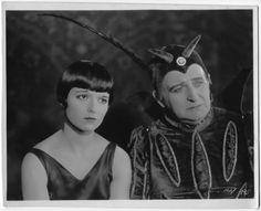 Louise Brooks with Arthur Donaldson   Paramount Studios Film Still from Love 'Em & Leave 'Em 1926.