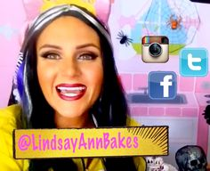 Lindsay Ann Bakes: {VIDEO} Halloween 2015 Behind the Scenes Exclusive Sneak Peek with Lindsay Ann Bakes