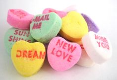 Conversation Hearts — Old Time Candy — Chocolates & Sweets — Nuts.com