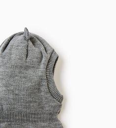 Image 2 of Knit balaclava from Zara