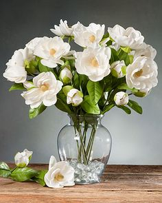 Create your own artificial floral arrangements with silk flower stems from Petals. Choose from beautifully handcrafted silk roses, hydrangeas, and more. Silk Roses, Silk Flowers, White Flowers, Beautiful Flowers, Artificial Floral Arrangements, Flower Arrangements, Ikebana, Open Rose, Gardenias