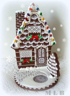 My little bakery :) gingerbread house, cookie house, Christmas house