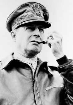 Douglas MacArthur was an American five-star general and Field Marshal of the Philippine Army. He was Chief of Staff of the United States Army during the and played a prominent role in the Pacific theater during World War II. Military Men, Military History, Philippine Army, Douglas Macarthur, Service Medals, Chief Of Staff, United States Army, Korean War, Us Army