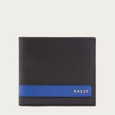 Bally LOLLTEN Men´s leather wallet in Black ($325) ❤ liked on Polyvore featuring men's fashion, men's bags and men's wallets