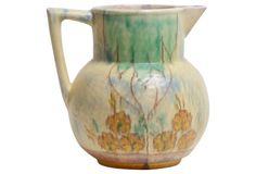 English Art Ceramic Pitcher
