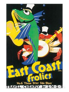 East Coast Frolics Posters by Frank Newbould at AllPosters.com