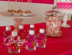 Variedad de pasabocas para mesas dulces