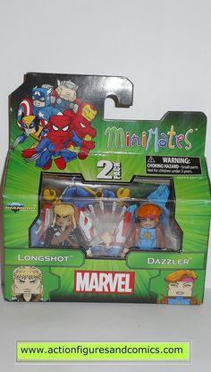 minimates LONGSHOT DAZZLER x-men marvel universe action figures moc mip mib
