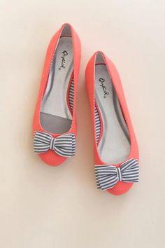 super cute navy stripe bows