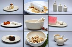 How cute are these handmade Xoologee tableware?